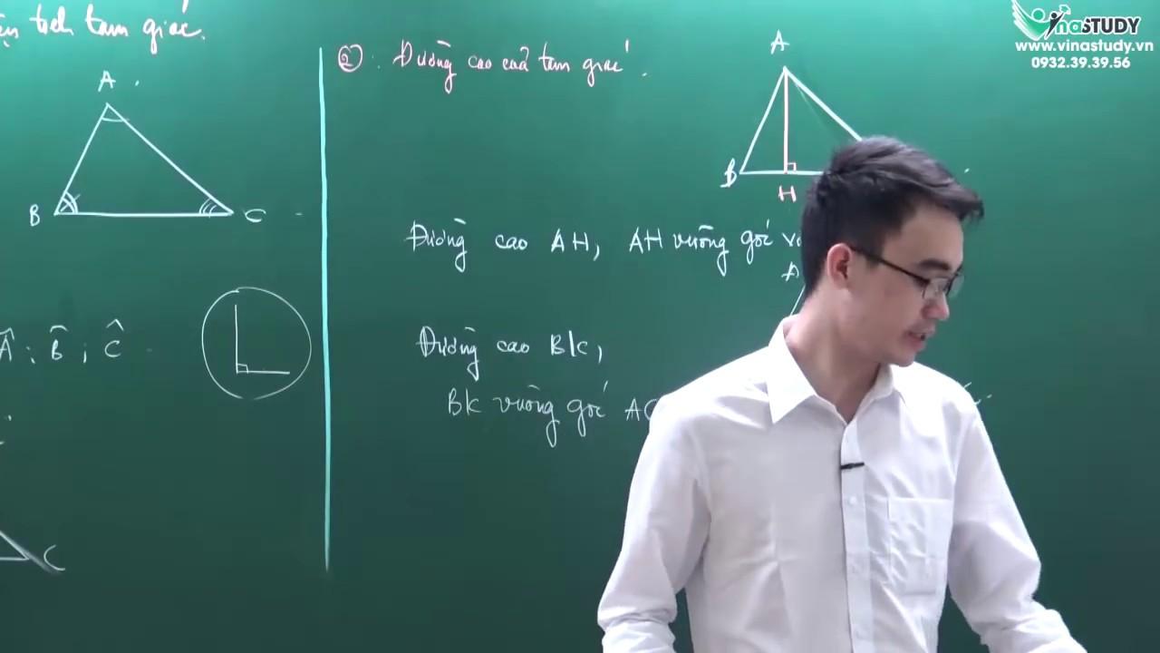 Tam giác - Diện tích tam giác - Toán nâng cao lớp 5 - Liên hệ 0932393956