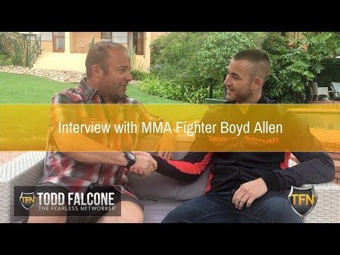 Interview with MMA Fighter Boyd Allen