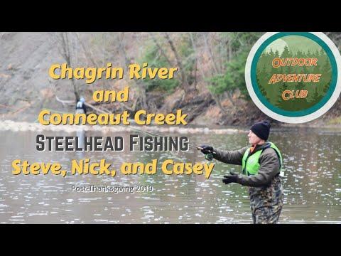Chagrin River And Conneaut Creek Steelhead Fishing