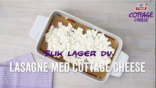 Slik lager du Fullkornslasagne med cottage cheese