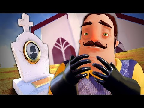 THE NEIGHBOR'S WIFE - Hello Neighbor (Full Game) Act 3 Secrets