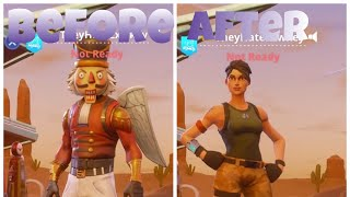 *New* How To Remove Skin & Back Bling in Season 5 : Fortnite Battle Royale
