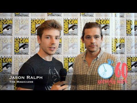 60 Seconds with Jason Ralph