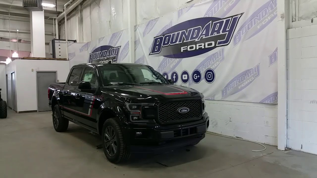 2018 Ford F-150 SuperCrew Lariat Sport Special Edition W ...