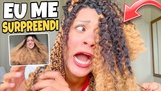 TIREI AS TRANÇAS BOX BRAIDS E ME SURPREENDI 😱
