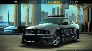 NFS Undercover (PS2) Unfinished Cars - Police Ford Mustang GT