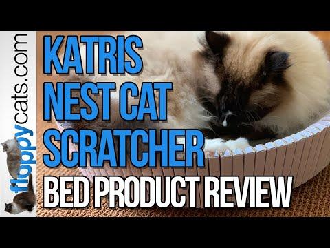 NEW! Cat Scratcher Bed: KATRIS Nest Cat Scratcher Bed Product Review