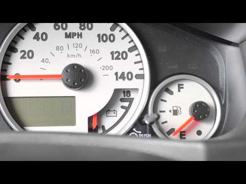 2012 NISSAN Frontier - Instrument Brightness Control And Trip Odometer