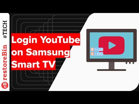 How To Login YouTube On Samsung Smart TV?
