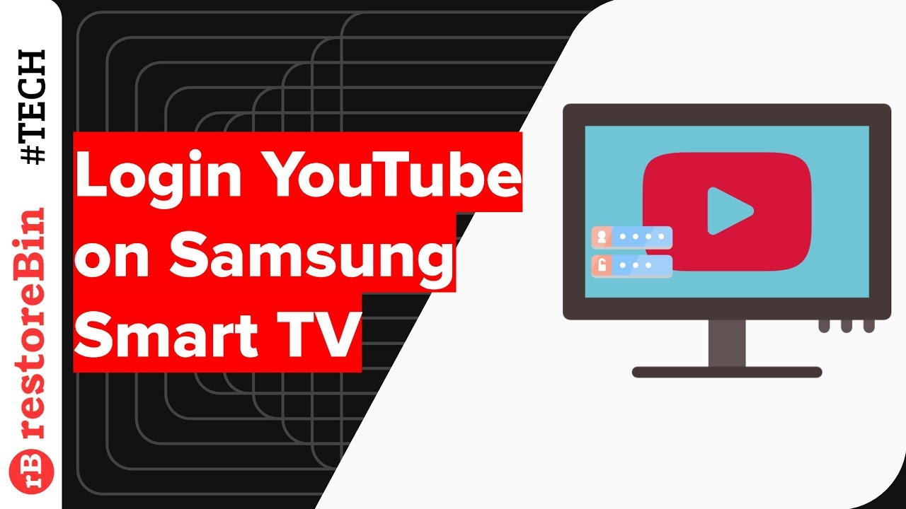 How To Login Youtube On Samsung Smart Tv Youtube