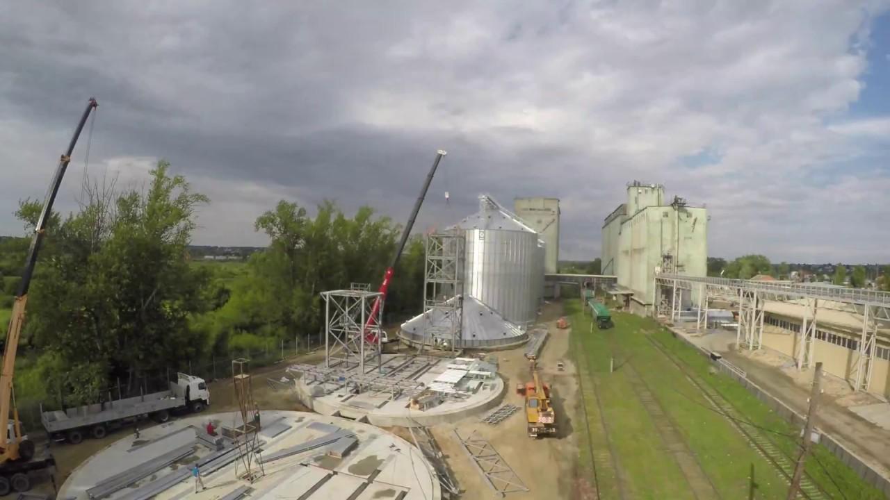 Начато строительство элеватора куплю транспортер т4 украина