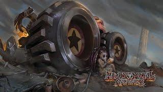 Обзор Heavy Metal Machines Смертельная гонка за компуктером