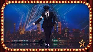 Incredible MICHAEL JACKSON Impersonator Wows The Judges | Never seen | Spain's Got Talent 2019