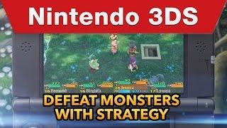 Nintendo 3DS - Etrian Mystery Dungeon Trailer