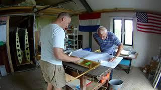 Van's RV-7 Build Fuselage Main Bulkhead Prepare (083)