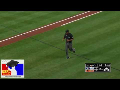 Injury Scout - Jeremie Rehak Leaves Field In Baltimore