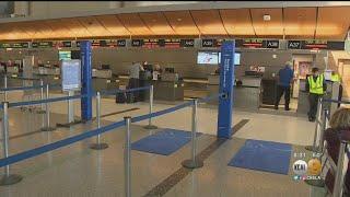 Light Traffic At LAX Due To Coronavirus 'Travel Anxiety'