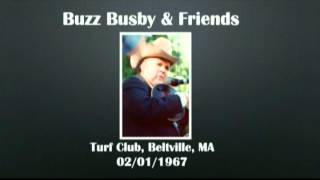 【CGUBA219】Buzz Busby & Friends 01/02/1967 (Date Revised)