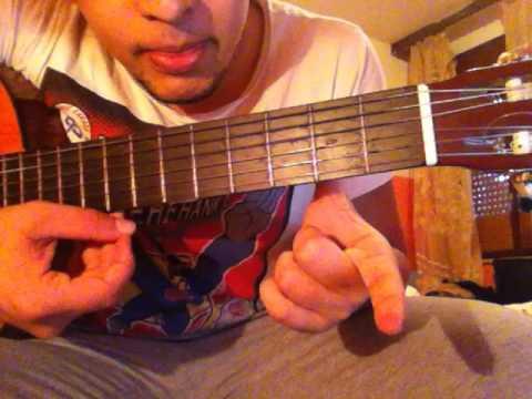 enrique iglesias bailando guitar lesson chords-solo 2016 (maroc)