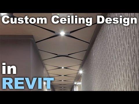 Custom Ceiling Design in Revit Tutorial