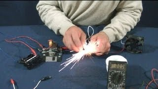 LADRON DE JOULES (ajustable  0-35 vol)--JOULES THIEF (adjustable 0-35 vol)