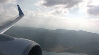"ArkeFly B737-800 Landing Ohrid ""St. Paul the Apostle"" Airport (LWOH/OHD)"