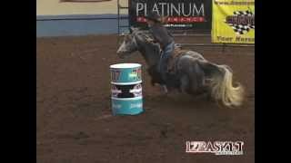 Kassie Mowry BBR World Finals 2012, 2020 Futurity slot race, 15.472