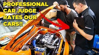 Professional Car Judge Rates Our Cars!! (2sexy Vs 2wistd)