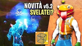 FORTNITE: THE NEW PATCH 5.2! NEW CLEIN (Trap) and More!