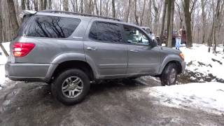 Toyota Sequoia @ rausch creek off road park, Fire Pit