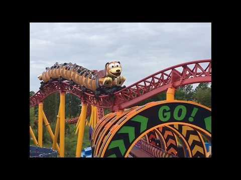 Slinky Dog Dash Ride Off-Ride