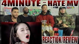 FIRST 4MINUTE 포미닛 - HATE 싫어 REACTION/REVIEW A Criticism and Co...