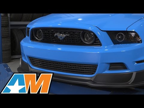 2013-2014 Mustang RTR Front Chin Spoiler (GT, V6) Review & Install