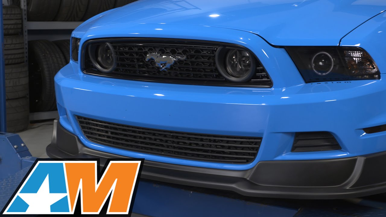 2013 Mustang Front Bumper >> 2013 2014 Mustang Rtr Front Chin Spoiler Gt V6 Review Install