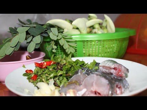 សម្លម្ជូរផ្កាអង្គារដី | Khmer Cooking | Khmer Food | Asian Food