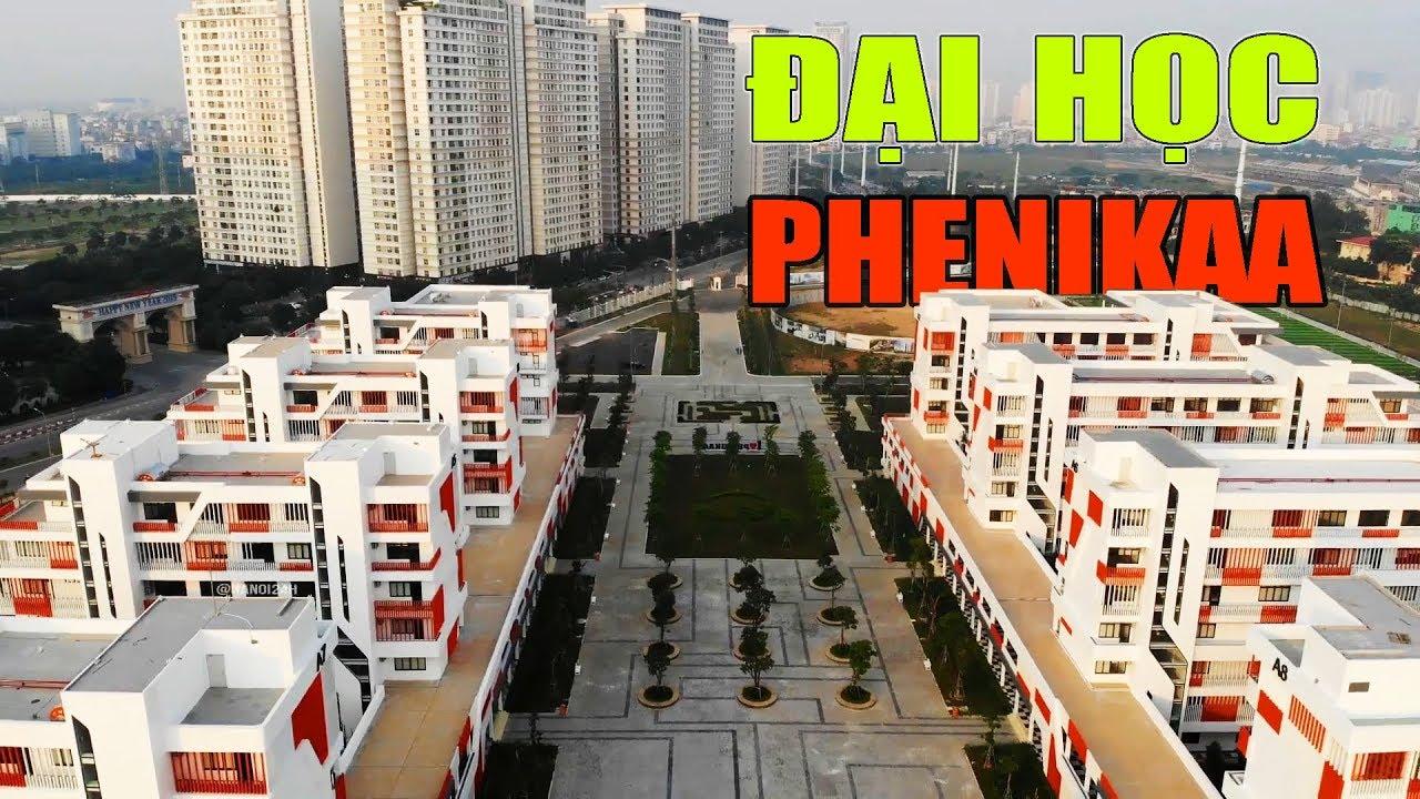 Kiến trúc mới nổi bật của trường Đại Học Phenikaa ở phía Tây Hà Nội