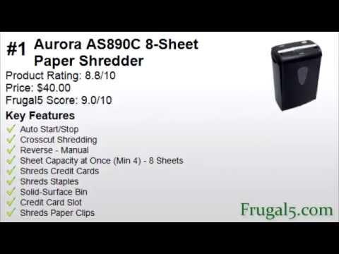 best paper shredder for the money - Best Paper Shredder For The Money