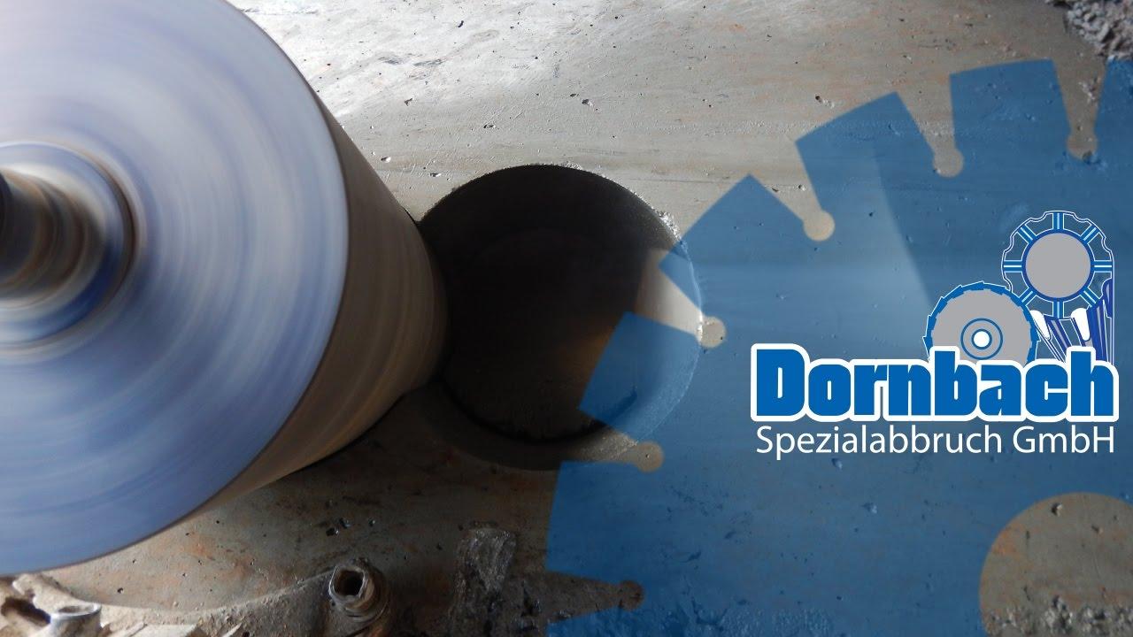 kernbohrungen in kanalschacht dn1000 mm - dornbach spezialabbruch