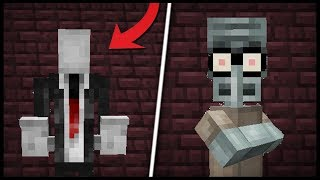 Minecraft CREEPYPASTA (Mod Showcase)