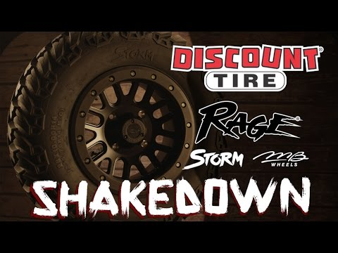 SHAKEDOWN: Rage STORM Tires & MB11 Wheels by Discount Tire