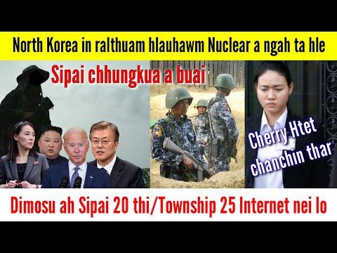 Suu Kyi bodyguard Cherry Htet chanchin kan hre thei ta/Sipai leh an thawhpui BGF inkáp, 20 thi