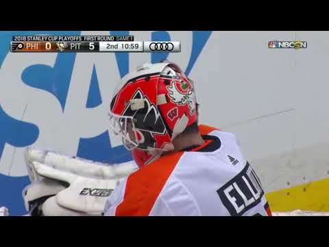 Philadelphia Flyers at the Pittsburgh Penguins - April 11, 2018 | Game Highlights | NHL 2017/18