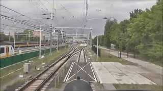 Meerijden met de machinist van Hfdo naar Es. (intercity). volledige versie.