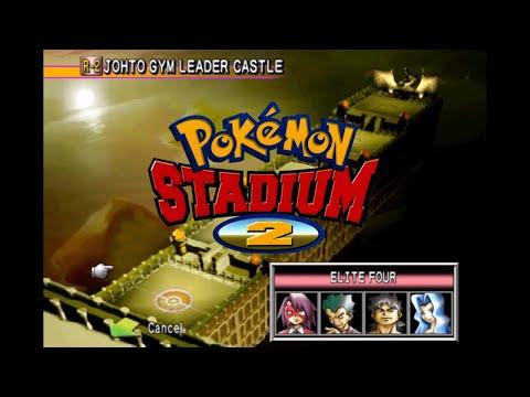 Pokémon Stadium 2 Johto Gym Leader Castle Elite Four Champion Lance