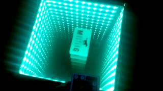 Infinity Mirror Table Selfmade