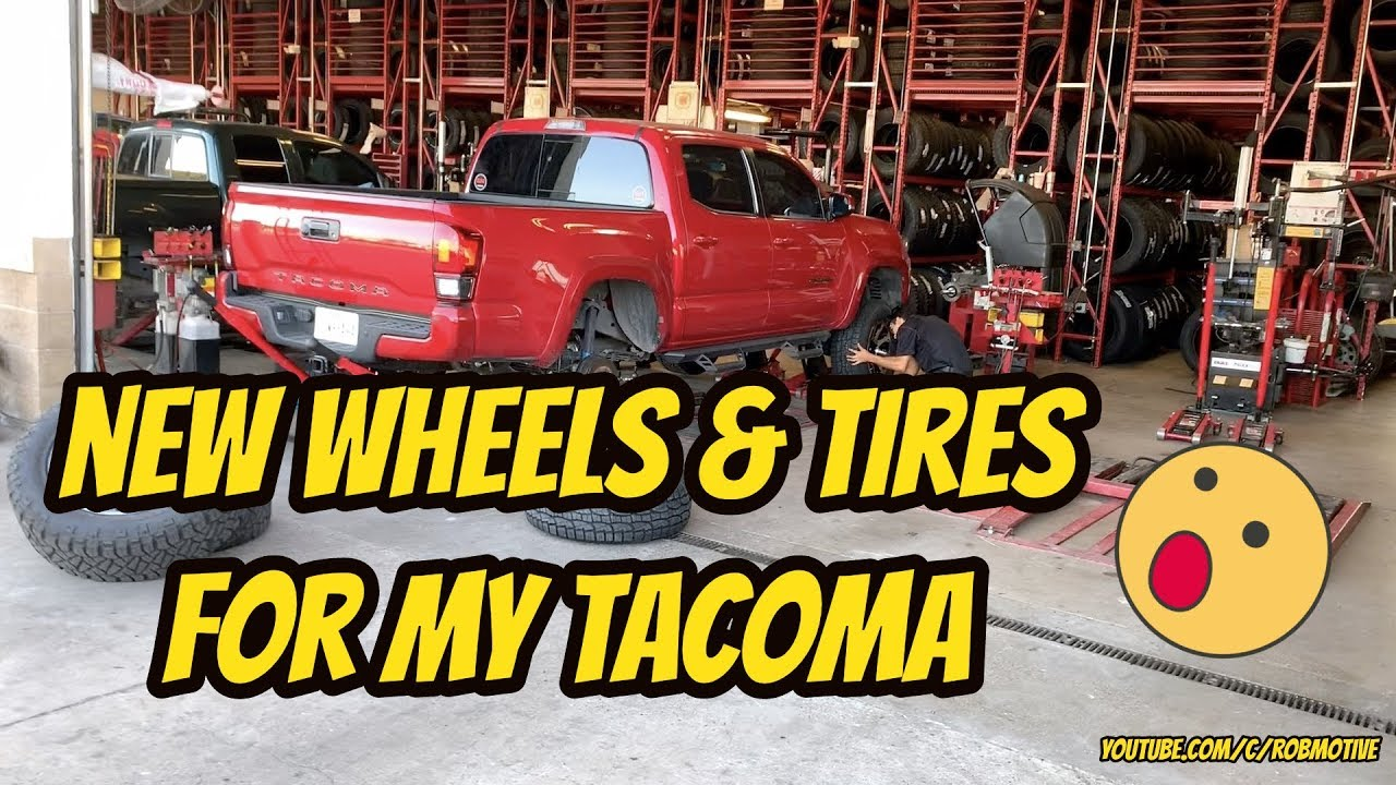 New Wheels Tires For My Tacoma You Won T Believe What I Got Youtube