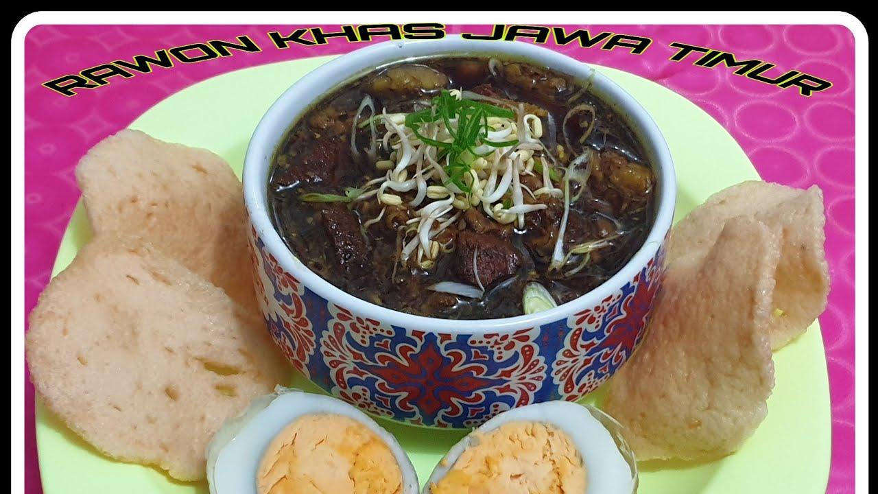 CARA MEMBUAT RAWON DAGING SAPI   KHAS JAWA TIMUR - YouTube
