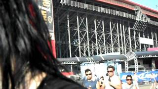 Meeting  black veil brides excet for andy 6 epic center festival set 26th 2010 day 10