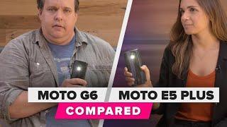 Moto G6 and E5 Plus budget phone comparison