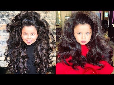 Гигантские волосы сделали девочку известной на весь мир!